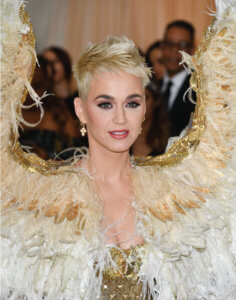 Katy Perry Pixie Blonde Cut and Color