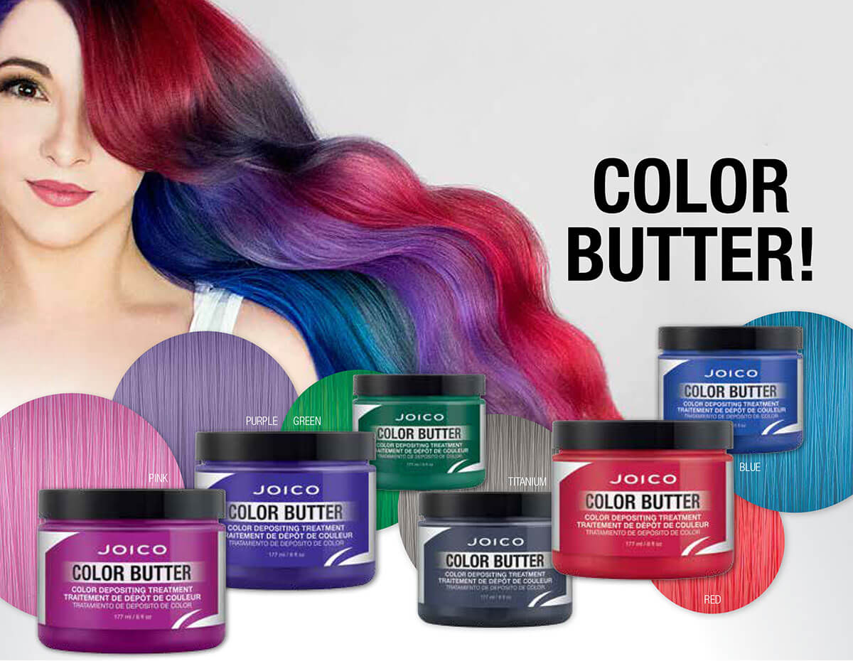 Color Butter family line with model