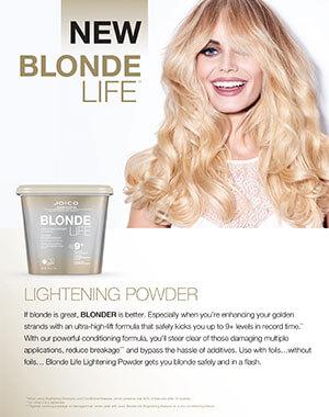 blonde life lightening powder fact sheet pdf cover