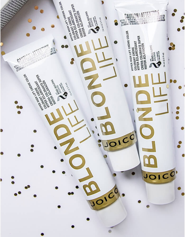 Blonde Life creme color tube