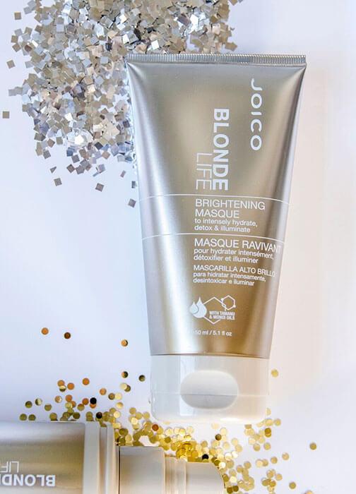 blonde life brightening masque bottle
