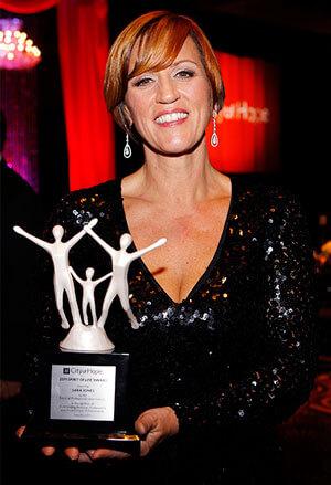 City Of Hope gala award winner sara