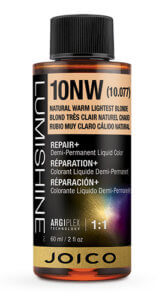 Lumishine liquid hair color bottle