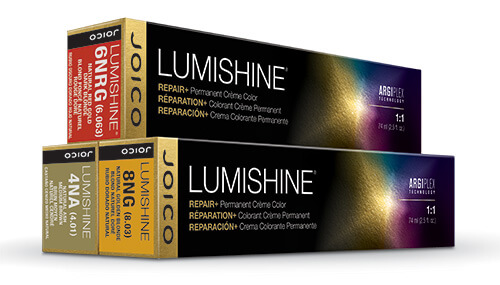 Lumishine permanent hair color boxes
