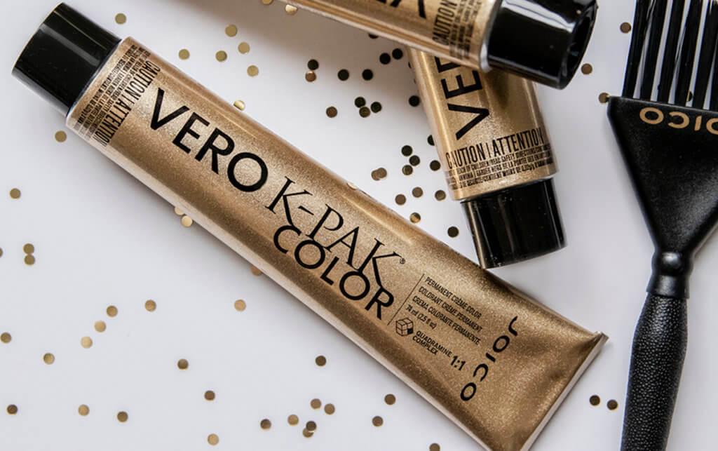 VERO K-PAK permanent hair color tube