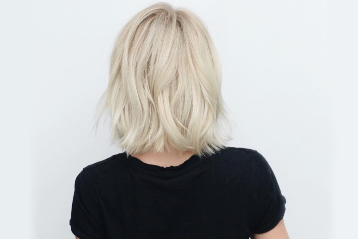 Jules Hough Blonde Hair After