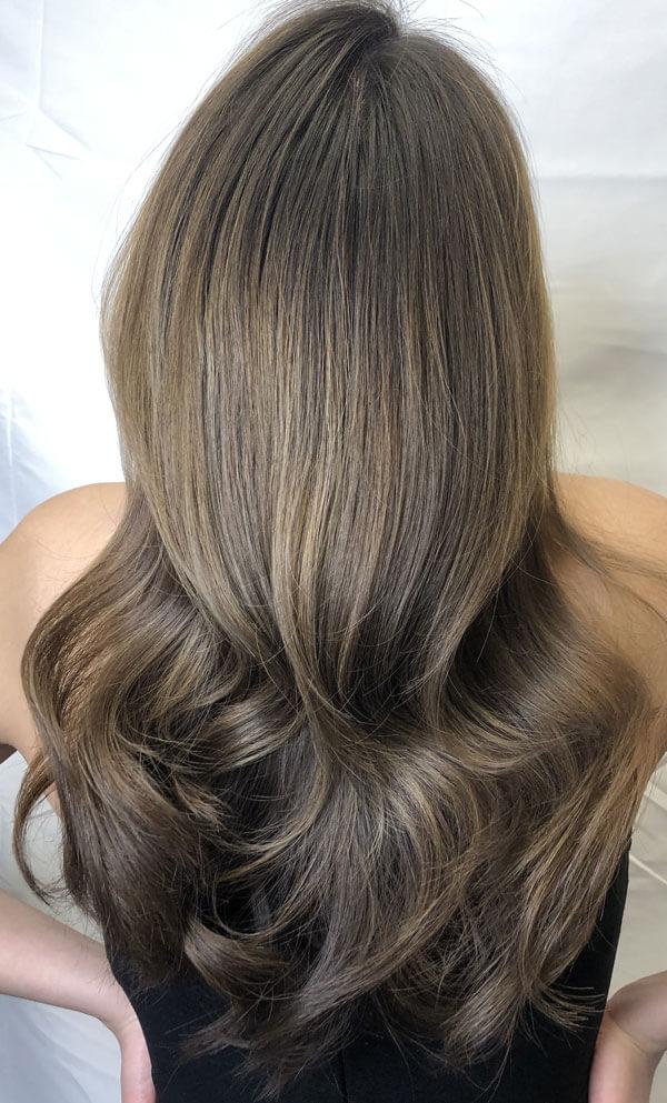 pick me up hair color technique final look